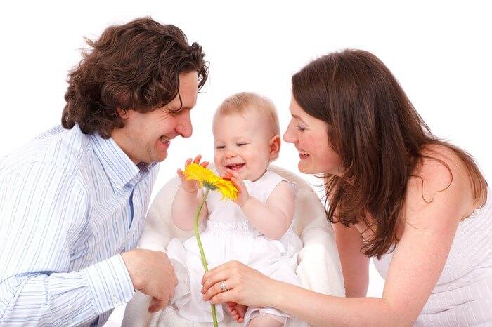 család fotózása
