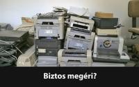 kidobott nyomtató