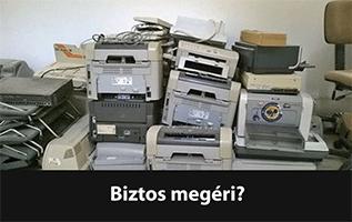 dobja ki nyomtatóját